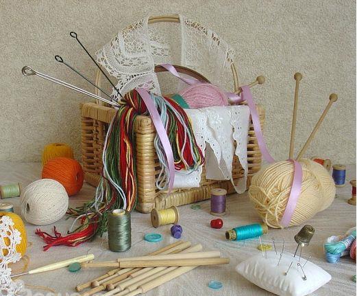 Простейшие схемы вязания салфеток крючком
